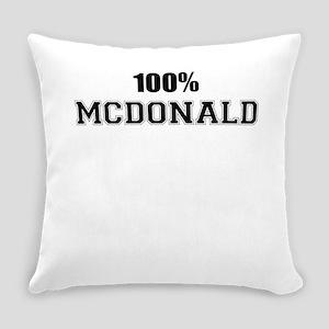 100% MCDONALD Everyday Pillow