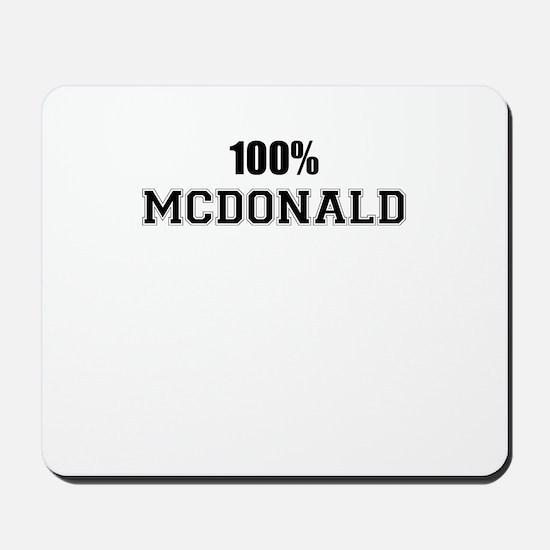 100% MCDONALD Mousepad