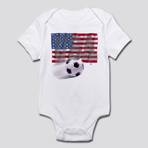 Soccer Flag USA Infant Bodysuit
