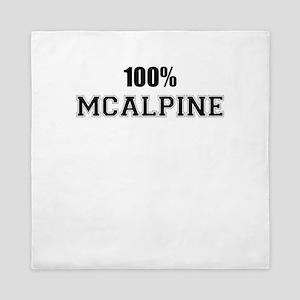 100% MCALPINE Queen Duvet