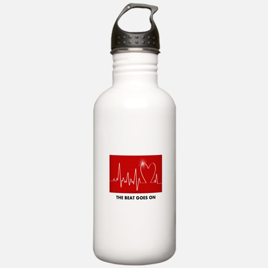 The Beat Goes On - Pos Water Bottle