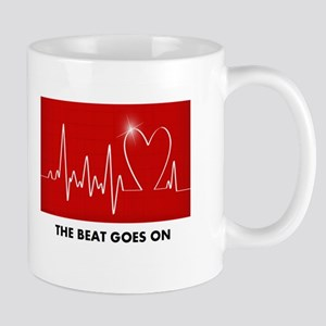 The Beat Goes On - Post Heart Attack Mugs