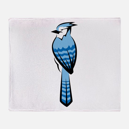 Bluejay Throw Blanket
