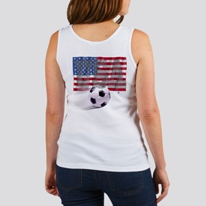 Soccer Flag USA (B) Women's Tank Top