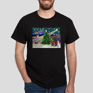 Xmas Magic/Border T Dark T-Shirt
