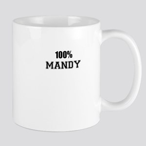 100% MANDY Mugs