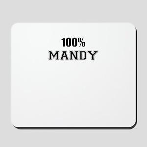 100% MANDY Mousepad