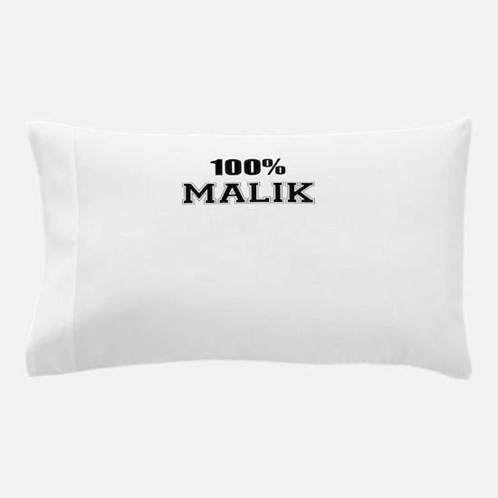 100% MALIK Pillow Case