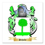 Scholte Square Car Magnet 3