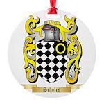 Scholes Round Ornament
