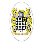 Scholes Sticker (Oval)