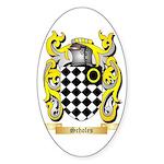 Scholes Sticker (Oval 50 pk)