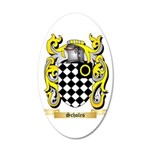 Scholes 20x12 Oval Wall Decal