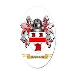 Scholefield Oval Car Magnet