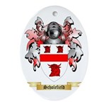 Scholefield Oval Ornament