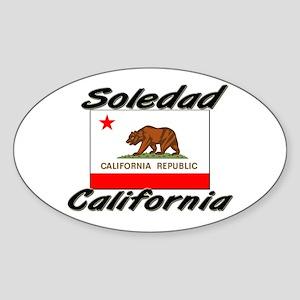 Soledad California Oval Sticker