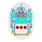 Schoen Oval Ornament