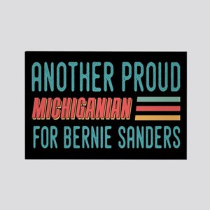 Another Proud Michiganian For Bernie Magnets