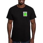 Schniers Men's Fitted T-Shirt (dark)