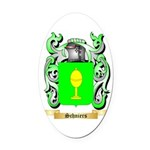 Schniers Oval Car Magnet