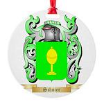 Schnier Round Ornament