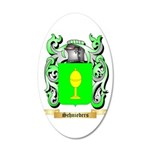 Schnieders 20x12 Oval Wall Decal