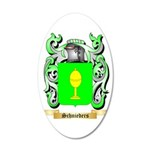 Schnieders 35x21 Oval Wall Decal