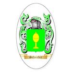 Schnieder Sticker (Oval 10 pk)