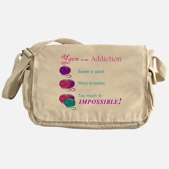 Cute Crafts Messenger Bag