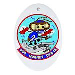 USS Hornet (CVA 12) Oval Ornament