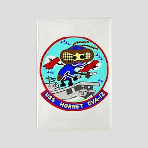 USS Hornet (CVA 12) Rectangle Magnet