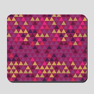 Triangle Colors GeoMetric Pattern Mousepad