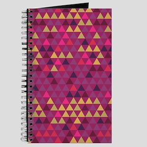 Triangle Colors GeoMetric Pattern Journal