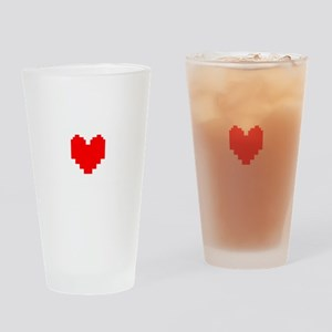 Stay Determined - Undertale Drinking Glass