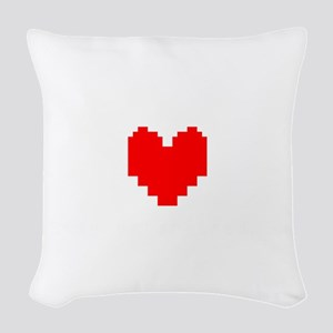 Stay Determined - Undertale Woven Throw Pillow