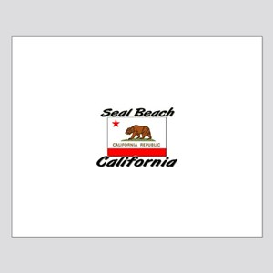 Seal Beach California Small Poster