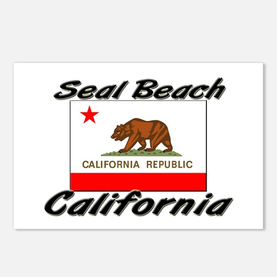 Seal Beach California Postcards (Package of 8)