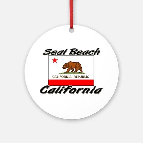 Seal Beach California Ornament (Round)