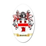 Schofield 35x21 Oval Wall Decal