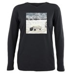 Like a Lion Plus Size Long Sleeve Tee
