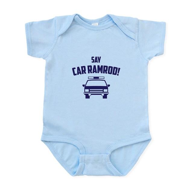 Car Ramrod Baby Light Bodysuit Car Ramrod Body Suit