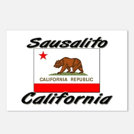 Sausalito California Postcards (Package of 8)
