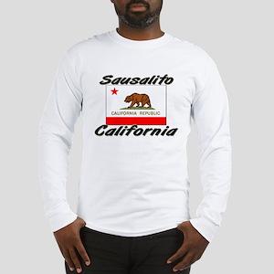 Sausalito California Long Sleeve T-Shirt