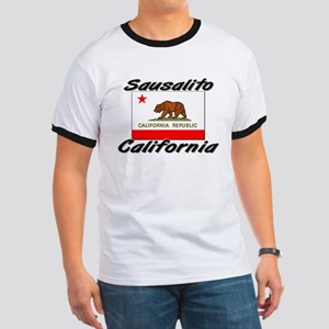 Sausalito California Ringer T
