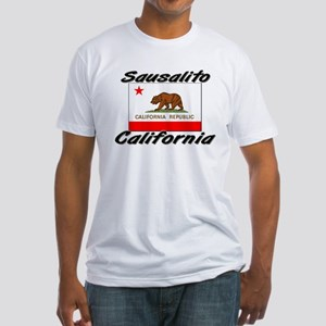 Sausalito California Fitted T-Shirt