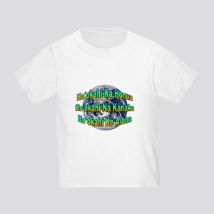 One Earth/People/Love Toddler T-Shirt