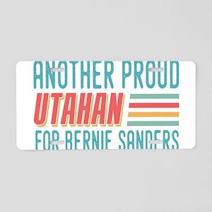 Another Proud Utahan For Bernie Aluminum License P