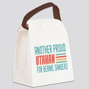 Another Proud Utahan For Bernie Canvas Lunch Bag