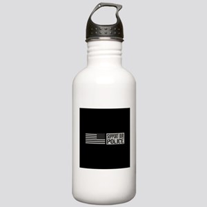 Support Our Police: Bl Stainless Water Bottle 1.0L