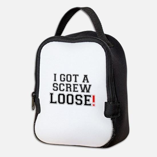 I GOT A SCREW LOOSE! Neoprene Lunch Bag